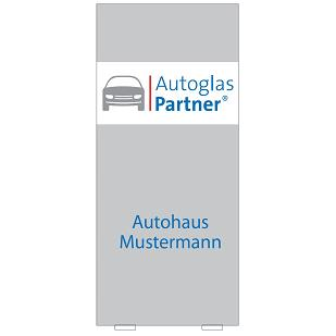 "Indoor Pylon ""Autoglas-Partner"